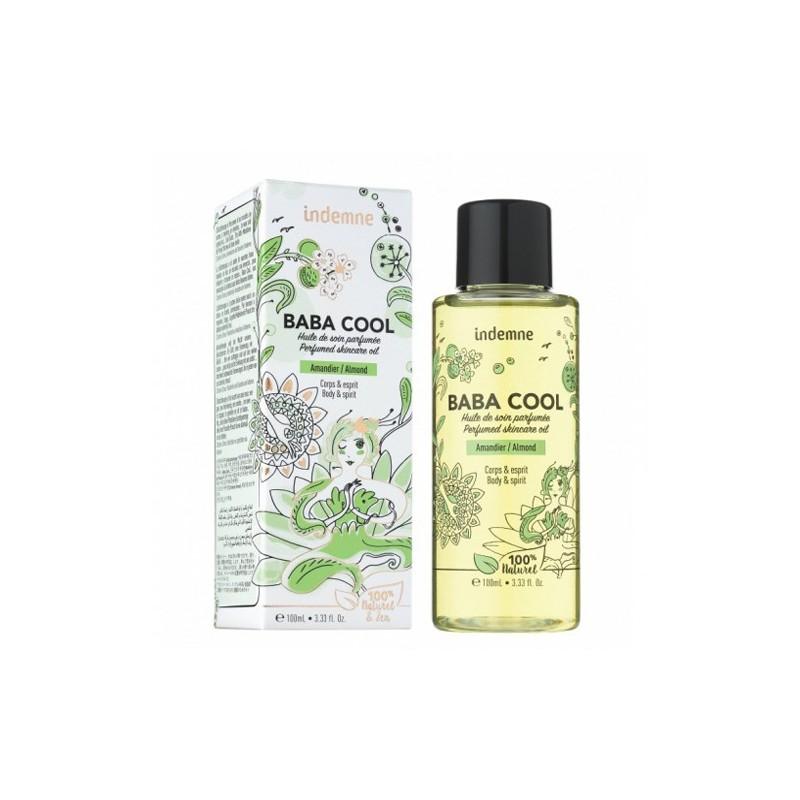 Indemne - Huile de soin Multi-Usage - Baba Cool - Amande Douce - 100 ml