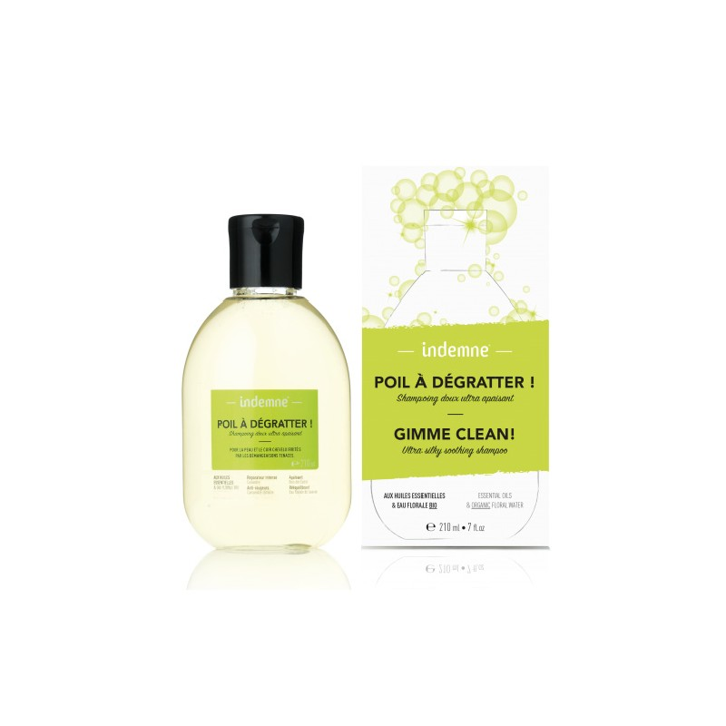 Indemne - Shampoing Ultra Apaisant - Poil à Dégratter - 210 ml