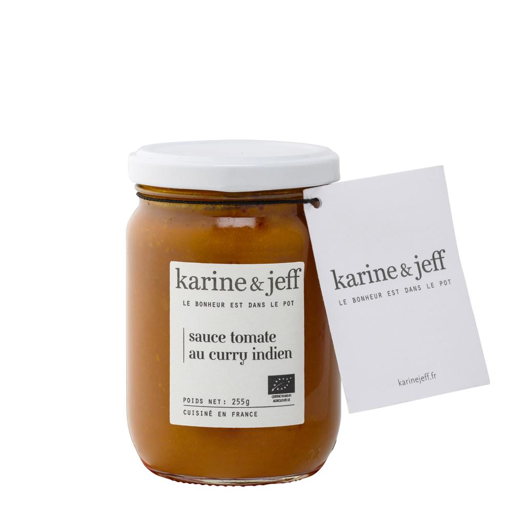 Karine & Jeff - Sauce tomate au curry Indien