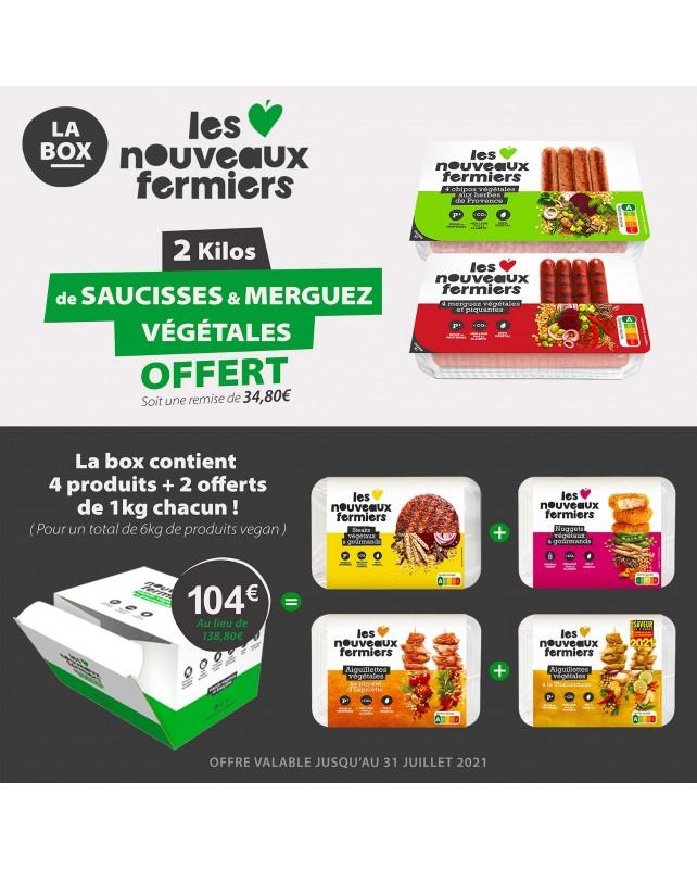 BOX Découverte Les Nouveaux Fermiers 6KG
