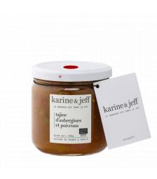 Karine & Jeff - Tajine d'aubergines et poivrons