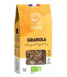 Natifood -  Granola Mangue et Chips de Coco - 350 g