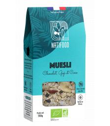Natifood - Muesli Chocolat, Goji et Coco - 350 g