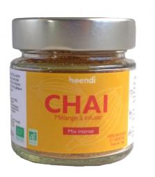 Beendi Chai L'Intense : gingembre & cardamome - Bio