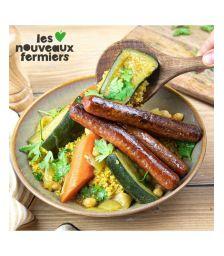Merguez Végétale 1kg Les Nouveaux Fermiers