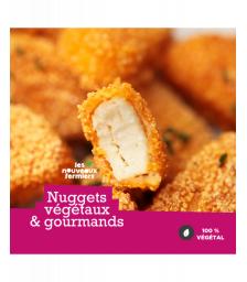 Nuggets végétaux 1KG - Nouveaux Fermiers