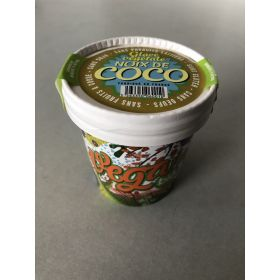 Barquette de 10 pots 150 ml Vega' n Bio Noix de Coco